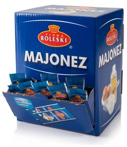 Mayonnaise – single-use sachets