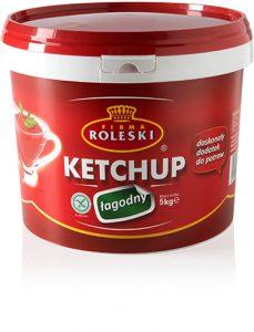 Ketchup Łagodny 5000g