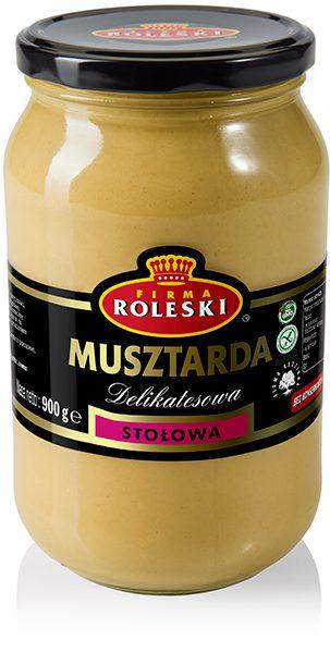 Table Mustard 900 g (Musztarda Stołowa)