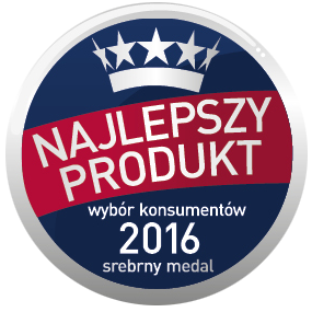 Nagroda: Najlepszy Produkt 2016 srebro ketchup