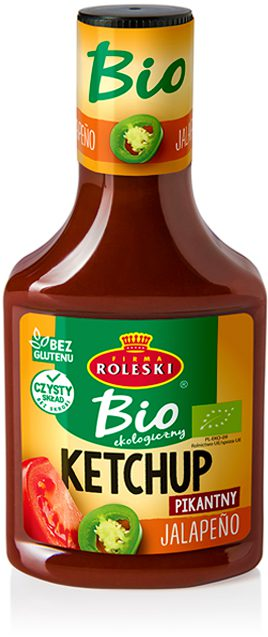 Ketchup Ekologiczny BIO Jalapeno Pikantny
