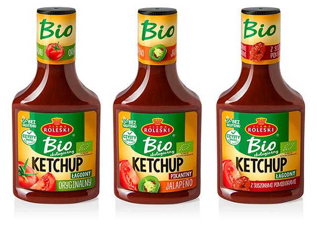 Ketchupy ekologiczne bio!