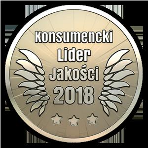 Nagroda: Konsumencki Lider Jakości 2018 srebro musztardy