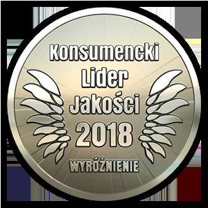 Nagroda: Konsumencki Lider Jakości 2018 – wyróżnienie majonez