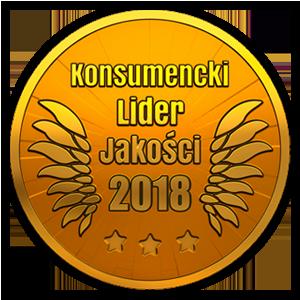 Nagroda: Konsumencki Lider Jakości 2018 – złoto ocet