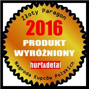 Nagroda: Złoty Paragon 2016 Produkt Wyróżniony dla majonez stołowy i ketchup łagodny