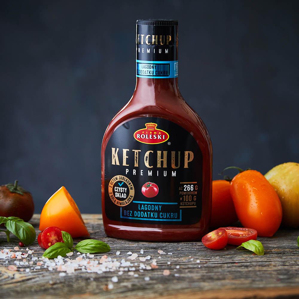 Ketchupy Premium. Doznania premium w 3 odmianach.