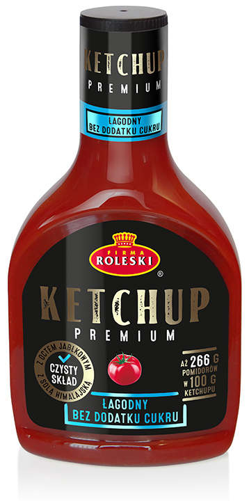 PREMIUM Ketchup – No Added Sugar