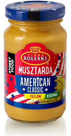 Musztarda American Classic Yellow Street Food