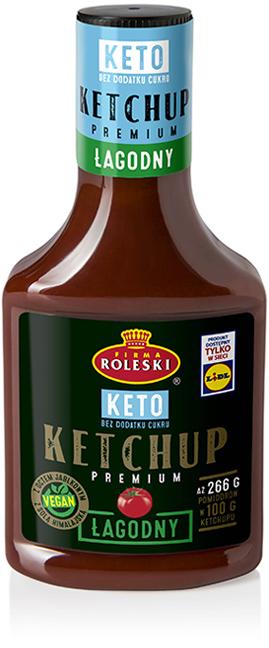 Ketchup Keto Łagodny