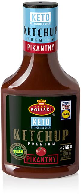 Ketchup Keto Pikantny