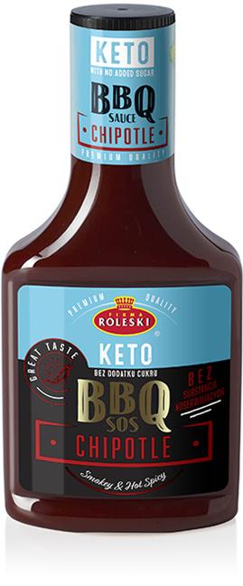 Sos BBQ z Chipotle Keto